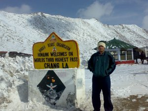 3rd highest pass in the world